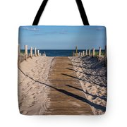 Pathway To Beach Seaside New Jersey Tote Bag
