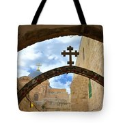 Pathway To The Cross Tote Bag