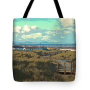 Pathway To The Sea Tote Bag