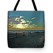 Pathway To The Sunrise Tote Bag