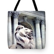 Patience With Pigeon Tote Bag