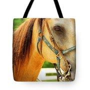 Patient Horse Tote Bag