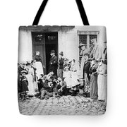 Patients Wait To See Dentist Tote Bag