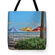 Patio Dining Tote Bag