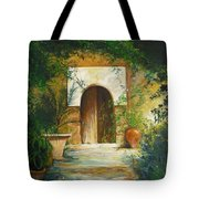 Patio Mallorquin Tote Bag