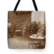 Patio Table Tote Bag