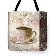 Patisserie Cafe Espresso Tote Bag