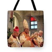 Patriarch Fouad Twal Tote Bag