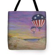 Patriotic Balloons Tote Bag