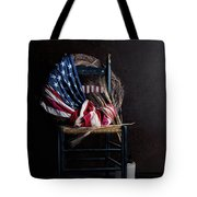 Patriotic Decor Tote Bag
