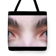 Patriotic Eyes - Poster Tote Bag