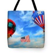 Patriotic Flight Tote Bag