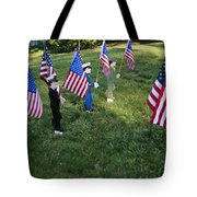Patriotic Lawn Ornaments Represent Tote Bag