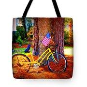 Patriotic Ride Tote Bag