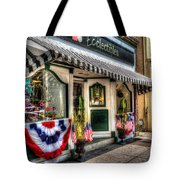 Patriotic Street Tote Bag by Debbi Granruth