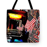 Patriotic Tavern Tote Bag