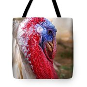 Patriotic Turkey Tote Bag