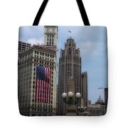Patriotic View Tote Bag