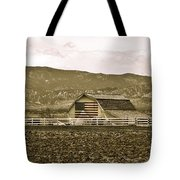 Patriotism And Barn Tote Bag