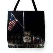 Patriotism In A Small Town Tote Bag