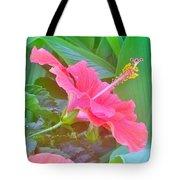 Pat's Hibiscus  Tote Bag