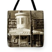 Pat's King Of Steaks - Philadelphia Tote Bag