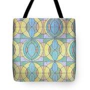 Pattern Of Serenity Tote Bag