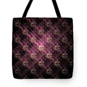 Pattern Of Stars Tote Bag