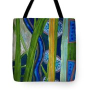 Pattern Out Of Grass And Stems And More  Tote Bag