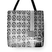 Pattern Recognition Palm Springs Tote Bag
