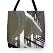 Patterned Balconies Tote Bag