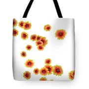 Patterns From Flowers Tote Bag