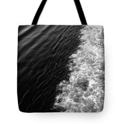 Patterns In The Sea Tote Bag
