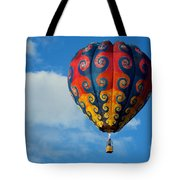 Patterns In The Sky Tote Bag