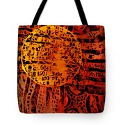 Patterns In The Sun Tote Bag