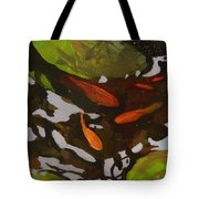 Patterns Of Green And Gold Tote Bag