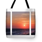 Patterns Of Sunset Tote Bag