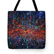 Patterns Of The Universe Tote Bag