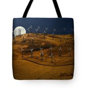 Patterson Pass Wind Farm Tote Bag
