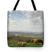 Paturage En Auvergne Tote Bag