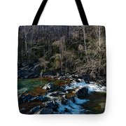 Patuxent River Trout Fisher Tote Bag