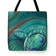 Paua Seabed By Reina Cottier Tote Bag