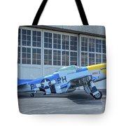 Paul 1 P-51d Mustang Tote Bag