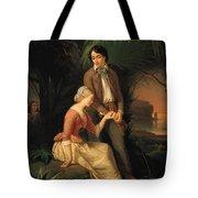 Paul And Virginie Tote Bag