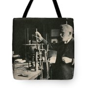 Paul Ehrlich, German Immunologist Tote Bag by Photo Researchers