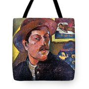 Paul Gaugin (1848-1903) Tote Bag