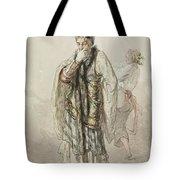 Paul Gavarni French, 1804-1866 Actors Tote Bag