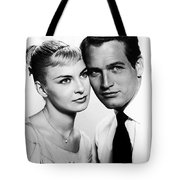 Paul Newman And Joanne Woodward In The Long Hot Summer 1958 Tote Bag