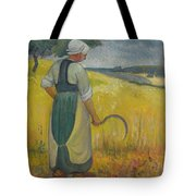 Paul Serusier 1864 - 1927 Breton Young To Sickle Tote Bag