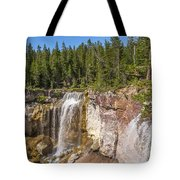 Paulina Creek Falls From The Top Tote Bag